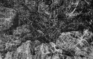 """Mountain pass""  | 15x20 cm | photographic printing (double exposure) | 2014"