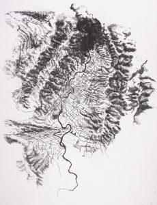 """n°3"" |  cm 60x50 | Lithography | 2013"
