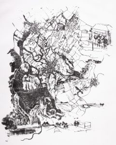 """n°1"" |  cm 60x50 | Lithography | 2013"