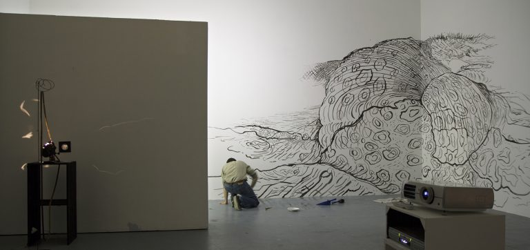 """Abstract landscape"" 